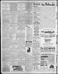 Nebraska Newspapers « Omaha daily bee  (Omaha [Neb ]) 187?-1922