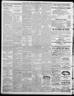 Nebraska Newspapers « Omaha daily bee  (Omaha [Neb ]) 187