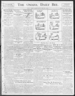 Nebraska Newspapers « Omaha daily bee  (Omaha [Neb ]) 187?-1922, May